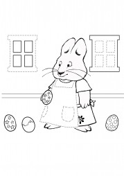 Руби собирает пасхальные яйца