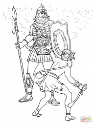 Битва Давида и Голиафа