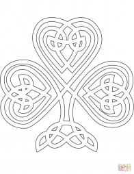 Трилистник в кельтском стиле