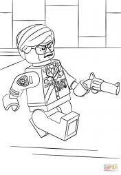 Комиссар Гордон из Лего Фильма: Бэтмен