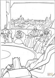 Заседание Верховного совета джидаев