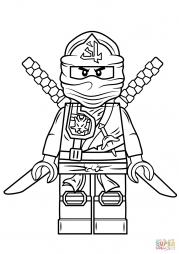 Зеленый ниндзя из серии Lego Ninjago