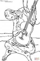 """""""Голубая гитара"""". Пабло Пикассо"""