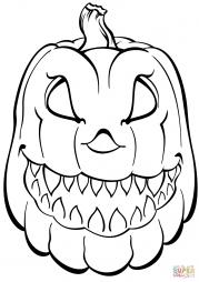 Страшная тыква