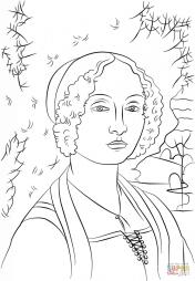 «Портрет Джиневры Бенчи» - картина Леонардо да Винчи
