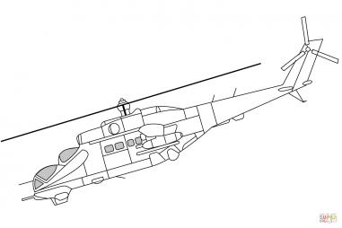 Ударный вертолёт Ми-24