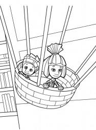 Нолик и Симка летят