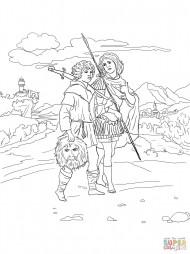 Ионафан и Давид с головой Голиафа