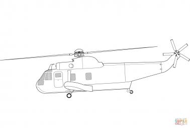 Транспортный вертолёт Сикорский SH-3 «Си кинг»