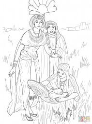 Нахождение младенца Моисея