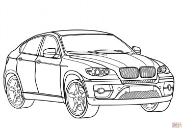Внедорожник BMW X6