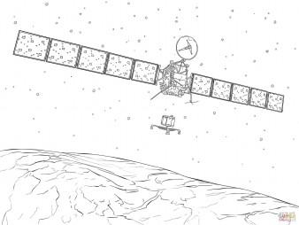 Посадка аппарата «Филы» на комету 67P/Чурюмова