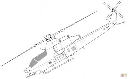 Ударный вертолёт Bell AH-1Z Viper