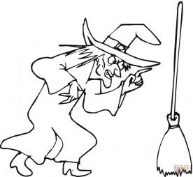 Ведьма и ее метла
