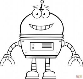Веселый робот