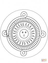 Каменный календарь ацтеков