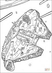 """Космический корабль """"Тысячелетний сокол"""""""