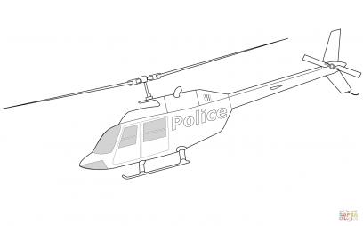 Многоцелевой вертолет Bell 206A