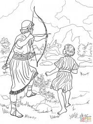 Ионафан предупреждает Давида