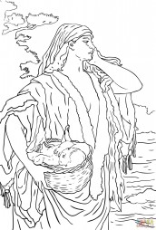 Младенец Моисей и Иохаведа