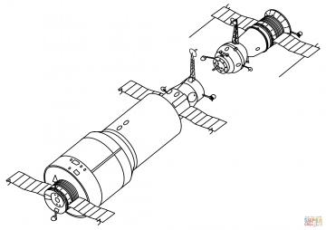 Стыковка космических кораблей