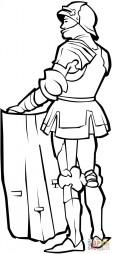 Рыцарь со щитом