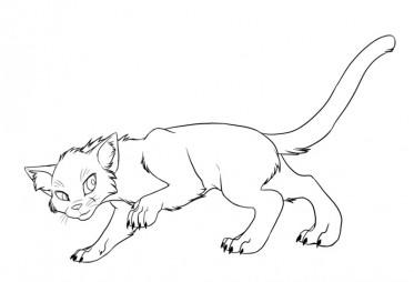 Огонек - кот-воитель