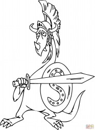 Дракон-гладиатор