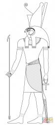 Древнеегипетский бог Хор