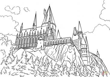Замок Хогвартса