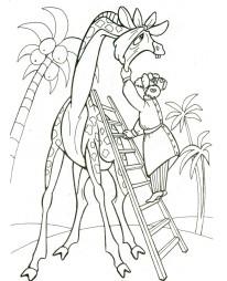Айболит лечит жирафа