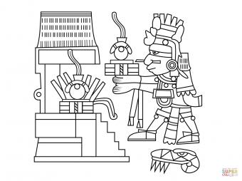 Шиутекутли. Ацтекский бог огня, дня и тепла