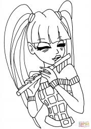 Муза играет на флейте