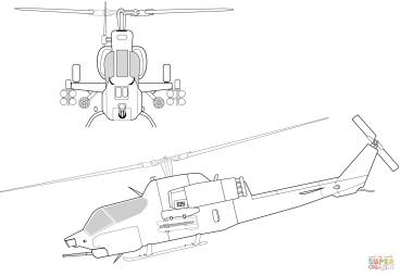 Вертолёт Белл AH-1 «Супер Кобра»