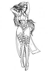 Шива из Mortal Kombat
