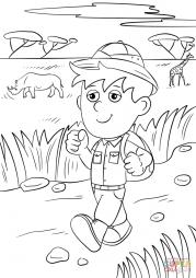 Исследователь сафари