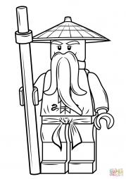 Сэнсэй Ву из серии Lego Ninjago