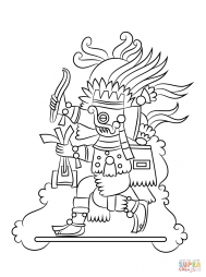 Ацтекский бог Тлалок