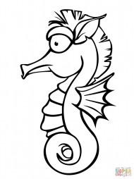 Милый морской конёк