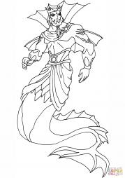 Король Нептун из Клуба Винкс