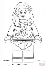 Ядовитый Плющ из Лего Фильма: Бэтмен