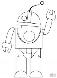 Привет от робота