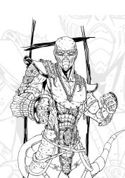 Ящер из Mortal Kombat