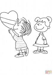Валентинка Чарли Брауна