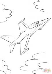 Военный истребитель