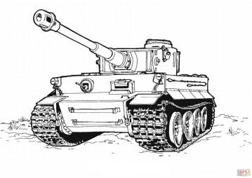 """Немецкий тяжёлый танк """"Тигр"""""""
