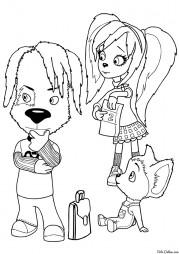 Дружок, Роза и Малыш Барбоскины