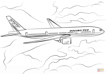 Самолет Boeing 777-200