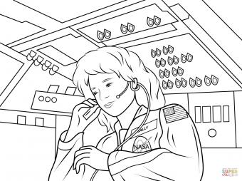 Салли Райд - первая женщина Америки, побывавшая в космосе