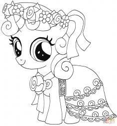 Мой маленький пони: Крошка Бель